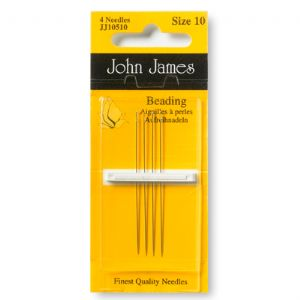 JJ10510 - Pack of 4x Size 10 John James Beading Needles